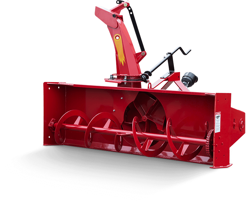 Single Auger Meteor Snowblower